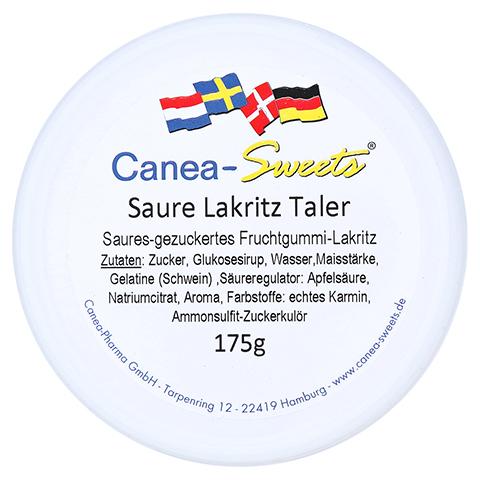 SAURE LAKRITZ Taler Bonbons 175 Gramm