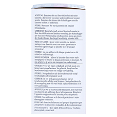 OneTouch Ultra Soft Lanzetten 100 Stück - Linke Seite