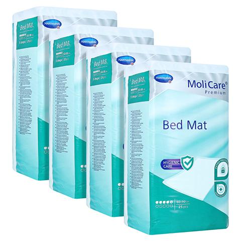 MOLICARE Premium Bed Mat 5 Tropfen 60x90 cm 4x25 Stück