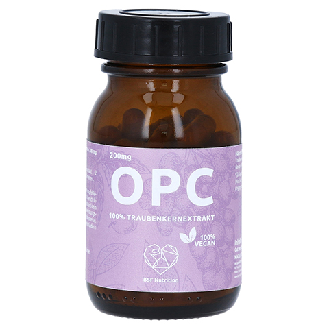 BSF Nutrition OPC 100% Traubenkernextr.100% vegan 60 Stück