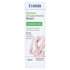 EVOLSIN Psoriasis Schuppenflechte Balsam 100 Milliliter - Vorderseite