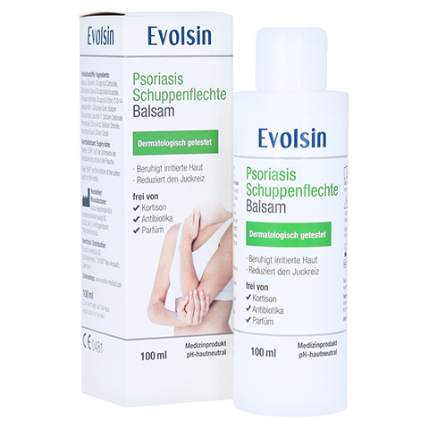 EVOLSIN Psoriasis Schuppenflechte Balsam 100 Milliliter