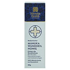 MANUKA HEALTH Wundheilhonig Tube 30 Gramm - Vorderseite