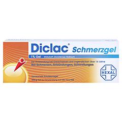 Diclac Schmerzgel 1% 100 Gramm N2 - Vorderseite