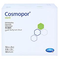 Cosmopor Steril 5x7,2 cm 50 Stück - Rechte Seite
