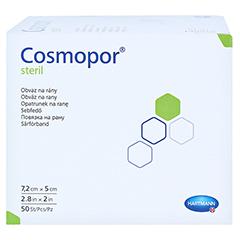 Cosmopor Steril 5x7,2 cm 50 Stück - Linke Seite