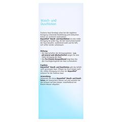 BEPANTHOL Wasch-u.Duschlotion 200 Milliliter - Rückseite