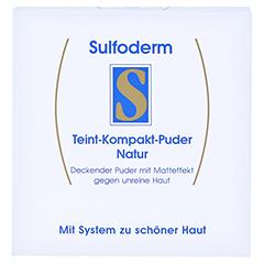 SULFODERM S Teint Kompakt Puder natur 10 Gramm - Vorderseite
