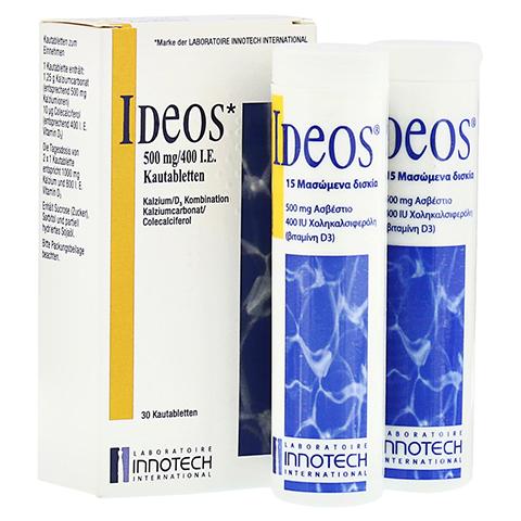 IDEOS 500 mg/400 I.E. Kautabletten 30 Stück