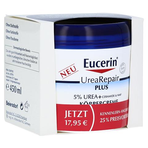 EUCERIN UreaRepair PLUS Körpercreme 5% Kennenlern 450 Milliliter