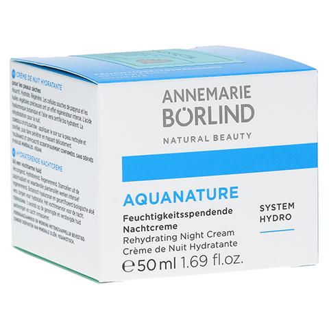 BÖRLIND AquaNature Nachtcreme 50 Milliliter