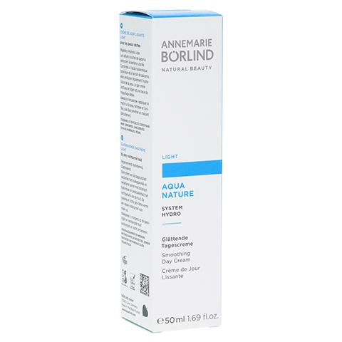 BÖRLIND AquaNature Tagescreme light 50 Milliliter
