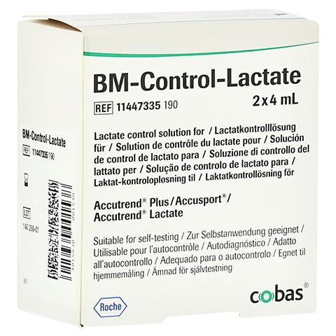 BM TEST Control Lactate Lösung 2 Stück