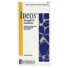 IDEOS 500 mg/400 I.E. Kautabletten 30 Stück - Vorderseite