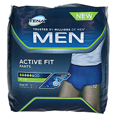 TENA MEN Active Fit Pants Plus M 12 Stück - Vorderseite