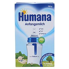 HUMANA Anfangsmilch 1 LCP+GOS Pulver 700 Gramm - Vorderseite