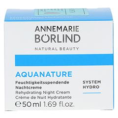 BÖRLIND AquaNature Nachtcreme 50 Milliliter - Vorderseite