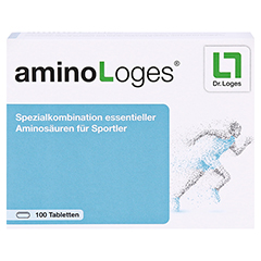 AMINO LOGES Tabletten 100 Stück - Vorderseite