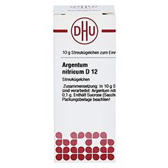 ARGENTUM NITRICUM D 12 Globuli 10 Gramm N1 - Vorderseite