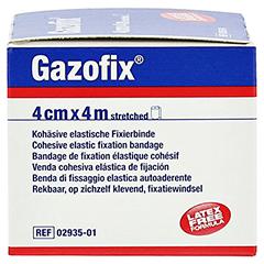 GAZOFIX Fixierbinde kohäsiv 4 cmx4 m 1 Stück - Linke Seite
