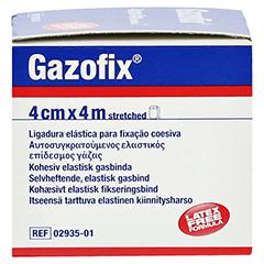 GAZOFIX Fixierbinde kohäsiv 4 cmx4 m 1 Stück - Rechte Seite