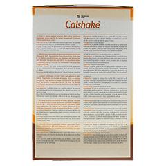 CALSHAKE Schokolade Beutel Pulver 6x7x90 Gramm - Rechte Seite