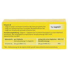 DEKRISTOLVIT D3 800 I.E. Tabletten 90 Stück - Rückseite