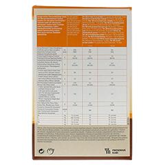 CALSHAKE Schokolade Beutel Pulver 6x7x90 Gramm - Rückseite