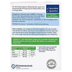 Doppelherz Abwehr Aktiv DIRECT Zink + Selen + Histidin + Vitamin C 40 Stück - Rückseite