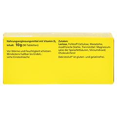 DEKRISTOLVIT D3 800 I.E. Tabletten 90 Stück - Oberseite