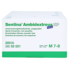 SENTINA Ambidextrous Nitrile U-Hands.unsteril Gr.M 200 Stück - Rechte Seite