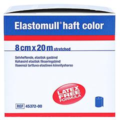 ELASTOMULL haft color 8 cmx20 m Fixierb.blau 1 Stück - Linke Seite