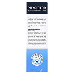 PHYSIOTOP Basis Lotion + gratis Physiotop Intensiv-Creme akut 30 ml 400 Milliliter - Rückseite