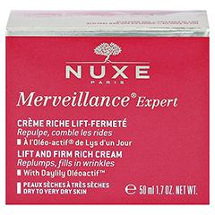 NUXE Merveillance Expert Anti-Aging-Creme reichhaltig 50 Milliliter - Rückseite