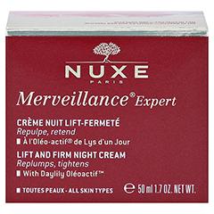 NUXE Merveillance Expert Anti-Aging-Creme für die Nacht 50 Milliliter - Rückseite