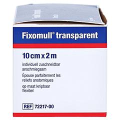 Fixomull Transparent 10 cmx2 m 1 Stück - Linke Seite