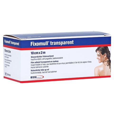 Fixomull Transparent 10 cmx2 m 1 Stück