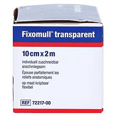 Fixomull Transparent 10 cmx2 m 1 Stück - Rechte Seite