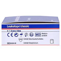 Leukotape Classic 2 cmx10 m weiß 1 Stück - Rechte Seite