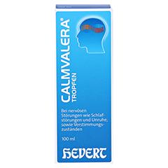CALMVALERA Hevert Tropfen 100 Milliliter N2 - Vorderseite