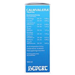 CALMVALERA Hevert Tropfen 100 Milliliter N2 - Rechte Seite