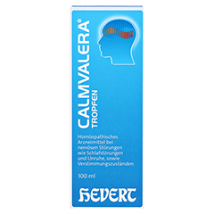 CALMVALERA Hevert Tropfen 200 Milliliter N3 - Vorderseite