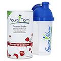 FIGURANORM Proteinshake Himbeer-Joghurt Pulv.Dose + gratis FIGURANORM Shaker 500 ml 360 Gramm