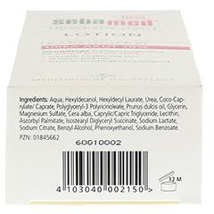 SEBAMED Trockene Haut parfümfrei Lotion Urea 10% + gratis SEBAMED Intim Waschgel pH 3,8 für die junge Frau 200 Milliliter - Unterseite
