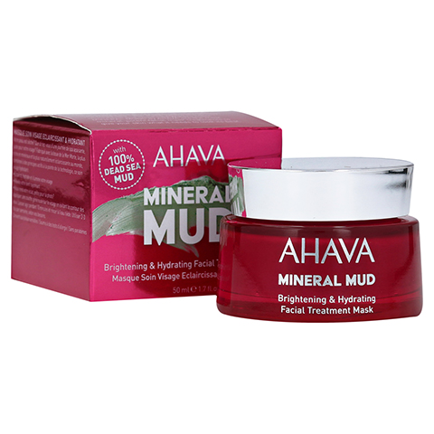 AHAVA Brightening & Hydration Facial Treatm.Mask 100 Milliliter