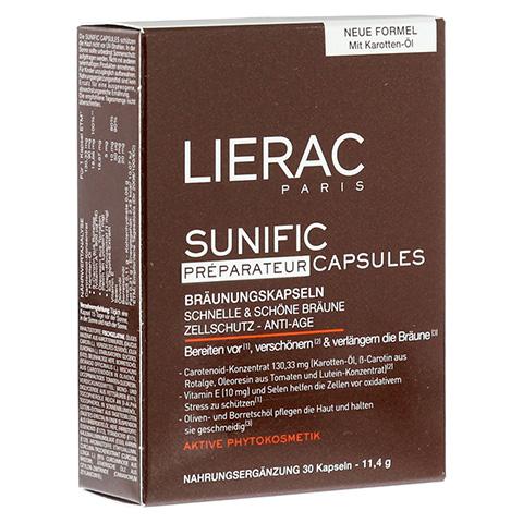 LIERAC Sunific Bräunungskapseln 30 Stück