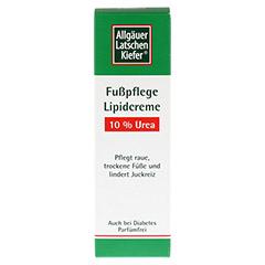 ALLGÄUER LATSCHENK. 10% Urea Fuß Lipidcreme 100 Milliliter - Vorderseite
