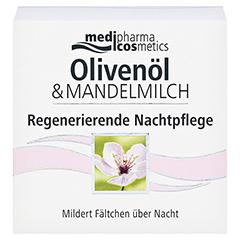 OLIVEN-MANDELMILCH regenerierende Nachtpflege 50 Milliliter - Vorderseite
