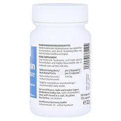 Hyaluronsäure 50 mg Caps 120 Stück - Linke Seite