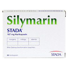 Silymarin STADA 167mg 30 Stück N1 - Rückseite